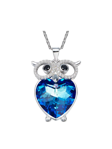 S925 Silver Owl-shaped Necklace