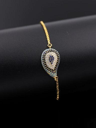 Water Drop Turquoise Bracelet