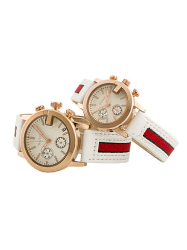 GUOU Brand Trendy Mechanical Lovers Watch