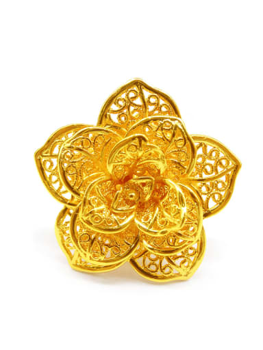 Personality Flower Shaped Women Ring