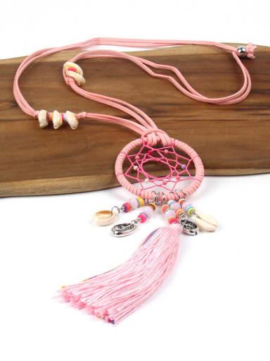 Exaggerate Tassel Long Tassel Women Necklace