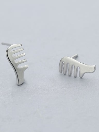 Simply Style Comb Shaped stud Earring
