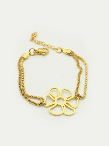 Flower-shape Accessories Fashion Ladies Bracelet
