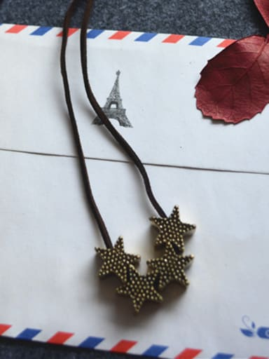 Women Exquisite Star Shaped Necklace