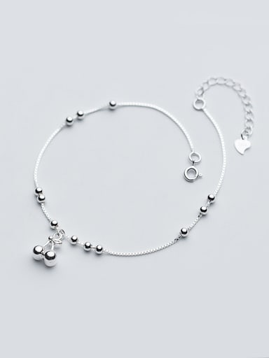 Fashionable Cherry Shaped S925 Silver Foot Jewelry