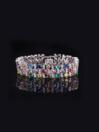 AAA Zircon Exaggerate Bracelet