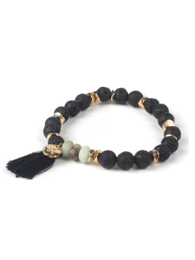 Semi-precious Stones Tassel DIY Fashion Bracelet