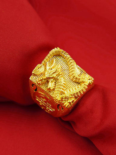 Men Exquisite Dragon Shaped Ring