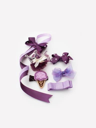Lovely Purple Hair clip