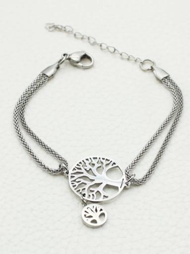 Hollow Tree Accessories Women Bracelet