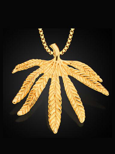 Fashion Leaf Necklace