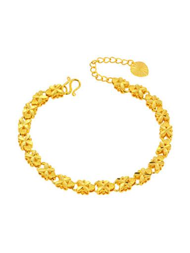 Ethnic style Four-leaf Clovers Bracelet