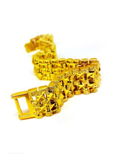 Men Exquisite Geometric Shaped Bracelet