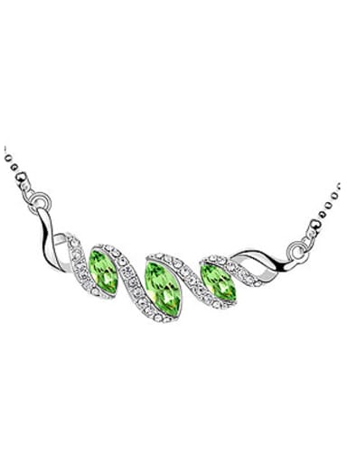Fashion Marquise Swarovski Crystals Alloy Necklace
