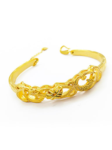 Open Design Fish Shaped Women Bangle