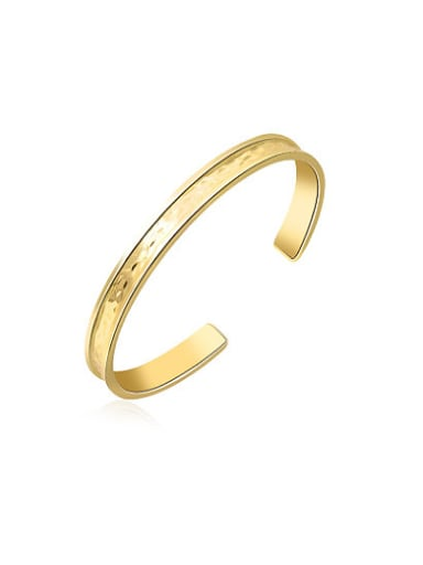 Fashion Gold Plated Open Design Bangle