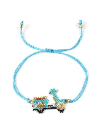 Creative Cartoon Car Lovely Woven Bracelet