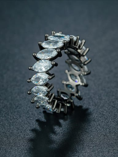 Black Zircon Ring