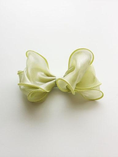 Yarn Bow Hair clip