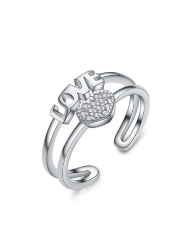 Love Letter Valentine's Day Gift Opening Ring