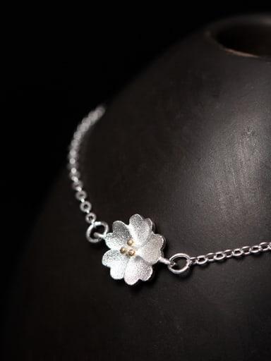 S925 Silver Blossom Women Bracelet
