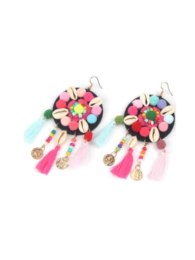 Retro Bohemia Style Tassel Drop Earrings