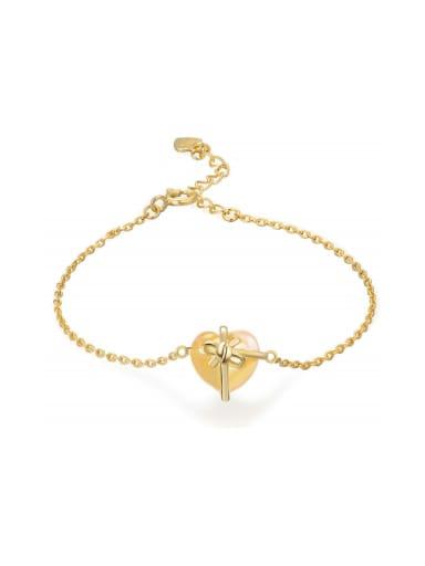 Natural Crystal Heart-shape Women Exquisite Bracelet
