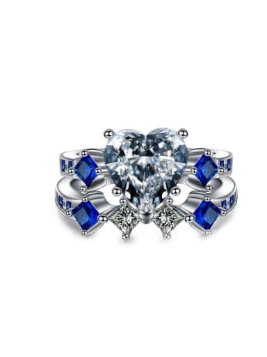 Unique Fashion Shining Zircons Women Ring