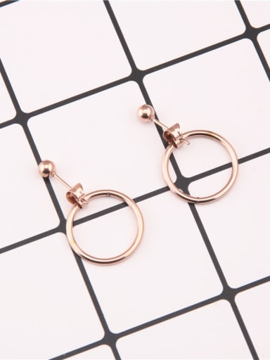 Temperament Round Shaped Women Earrings
