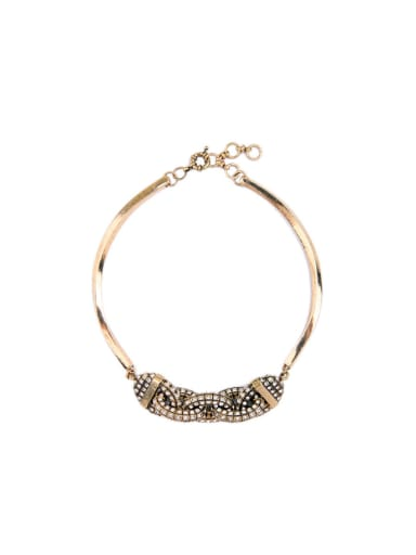 Rhinestones Personality Fashion Necklace