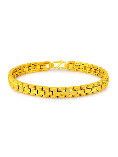 Luxury 24K Gold Plated Watch Band Design Bracelet