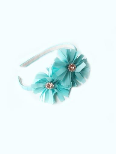 Bow Flower Head Band