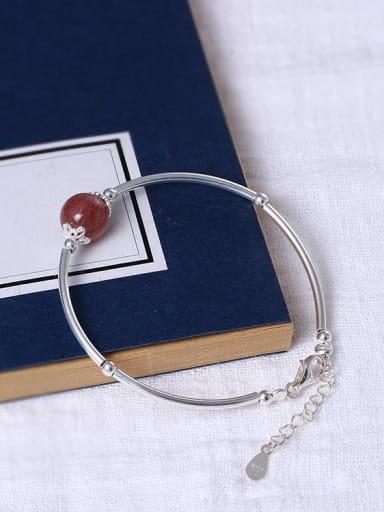 Simple Style Crystal Women Bracelet