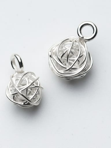 925 Sterling Silver With Silver Plated Personality Line regiment Charms