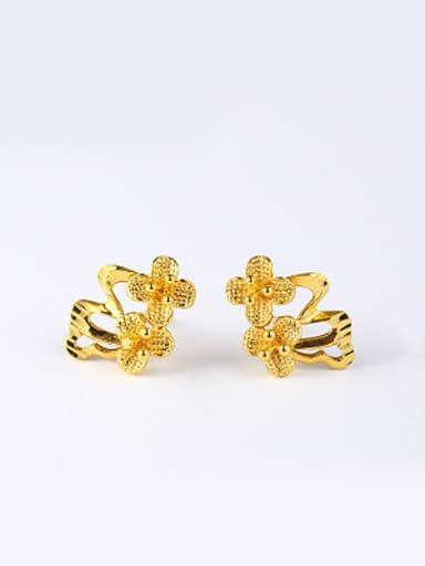 Ethnic style Flowers Stud Earrings