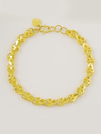Adjustable Length 24K Gold Plated Owl Shaped Bracelet