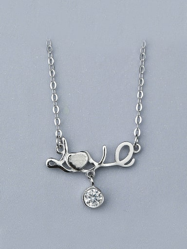 2018 Monogrammed Shaped Necklace
