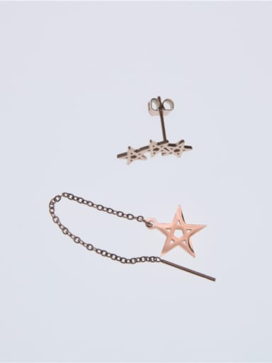 Temperament Korean Style Star Earrings