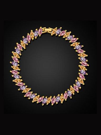 2018 Fashion Multicolor Zircon Bracelet