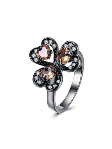 Fashion Heart shapes Zircon Women Ring