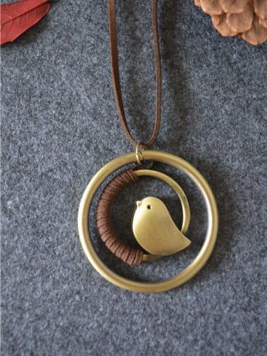All-match Women Bird Shaped Necklace