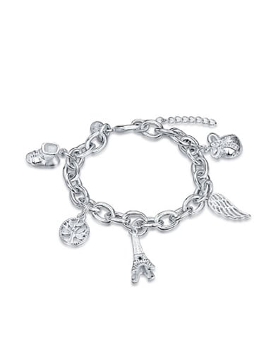 Simple Personalized Motifs Women Bracelet