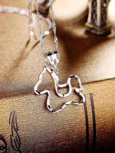 Trendy 925 Silver Horse Pendant