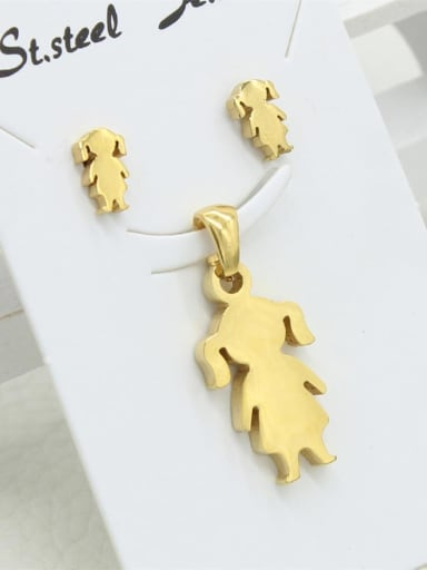 Dancing Girl Shaped Two Pieces Set
