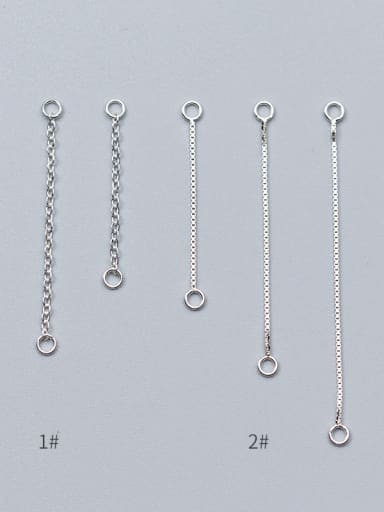 925 Sterling Silver Chain 30mm 40mm 50 mm for choice