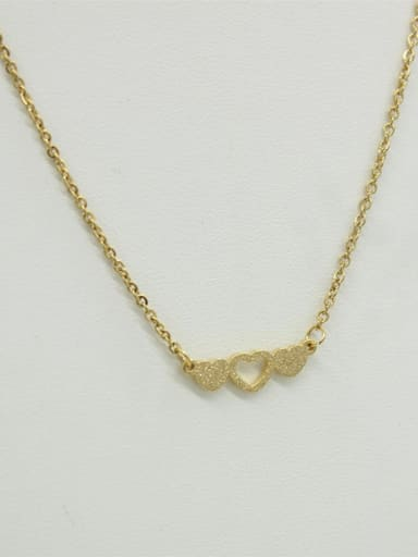 Elegant Heart Shaped Women Necklace