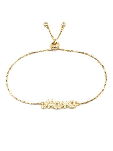 Exquisitely Shining AAA Zircons Micro Pave Adjustable Women Bracelet