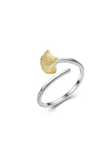 Leaf-shape Women Fashion Opening Ring