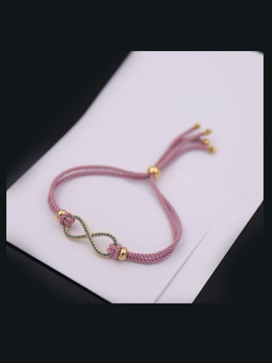8 Shaped Rope Stretch Bracelet