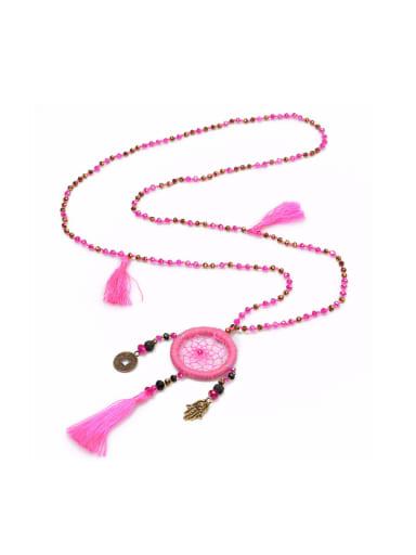 New Design Women' Sweater Tassel Necklace
